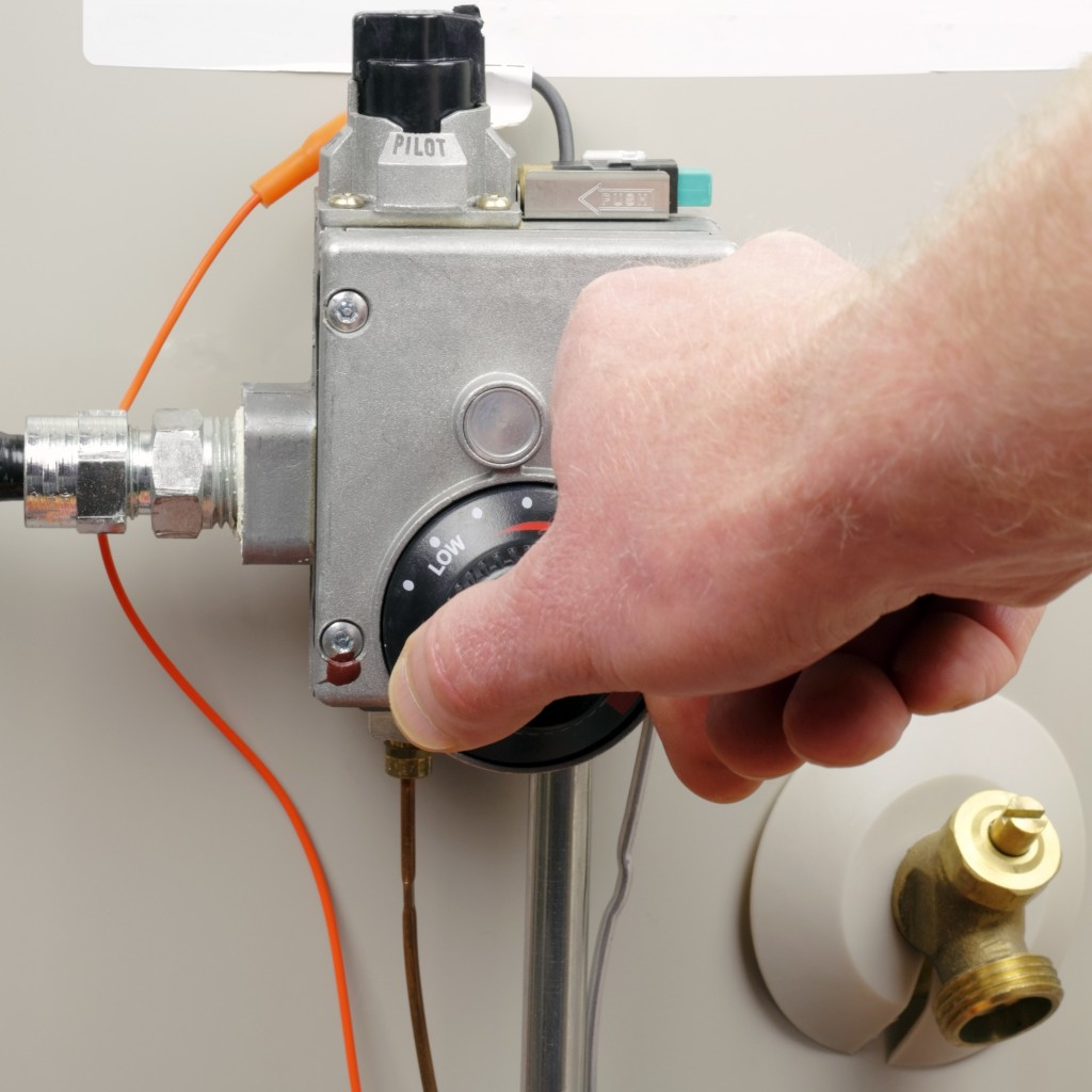 temperature switch and knob