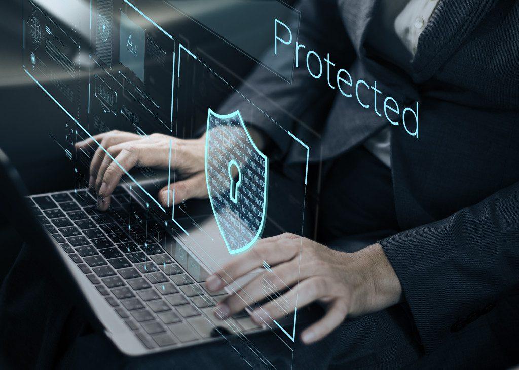 virtual security screen