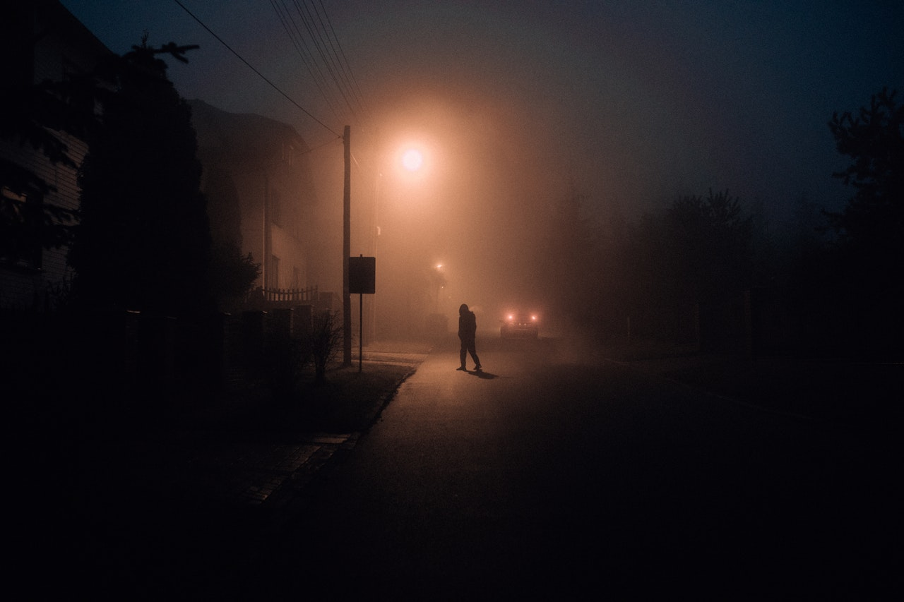 burglar on a dark street
