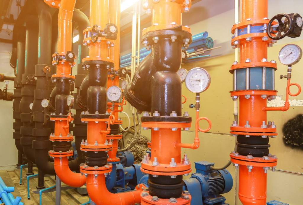 HVAC Pipes and Valves