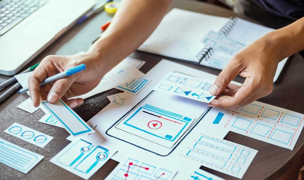 designing a website