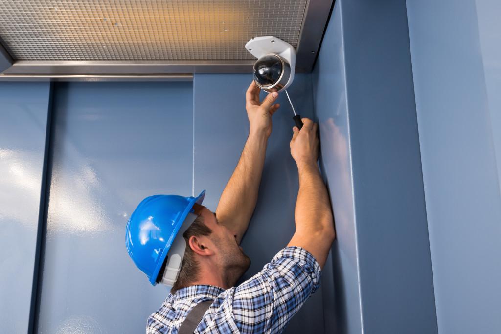 installing a security camera